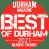 Durham Magazine - Best of Durham 2021 - Readers' Favorite Logo