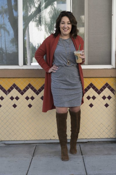 casual, comfortable and flattering dress