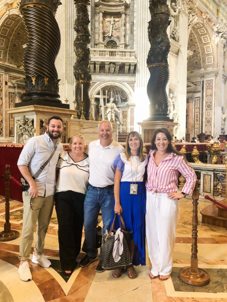 Travel Diary | St. Peters Church in Rome, Italy