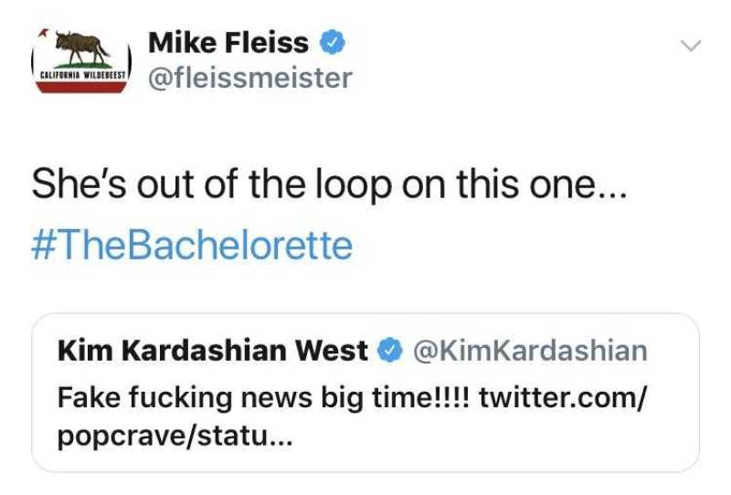 mike fleiss tweet