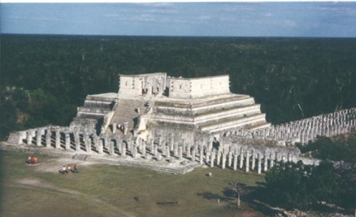 Temple of Warriors Image Credit: Wikimedia
