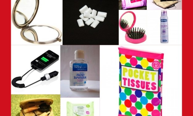 10 Things That You Must Have in Your Handbag