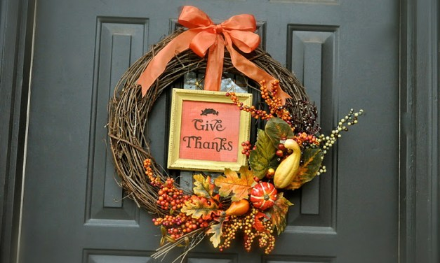 8 Easy Thanksgiving Decoration Ideas