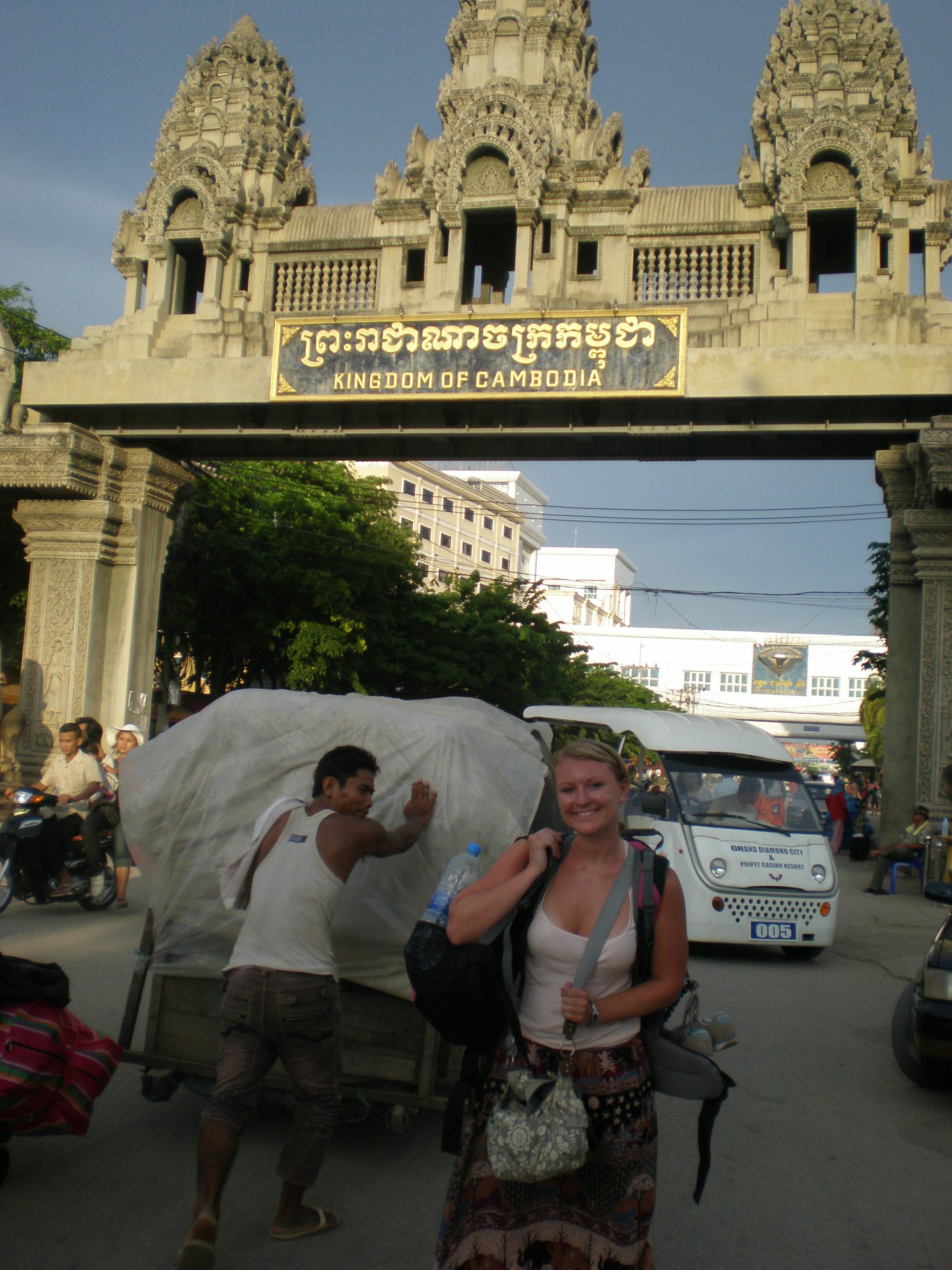 Cambodian boarder