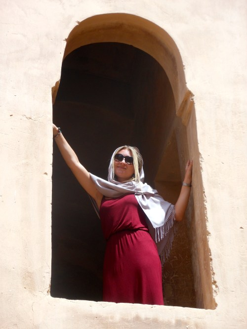 My Arabian princess pose ;)