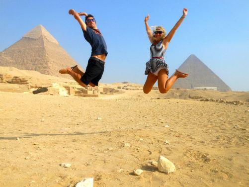 Visiting the Pyramids
