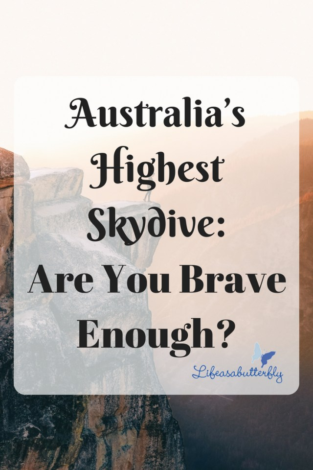 Australia's highest skydive: Are you brave enough?