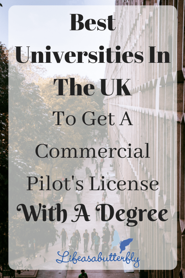 Best Universities In The UK To Get A Commercial Pilot's License with A Degree