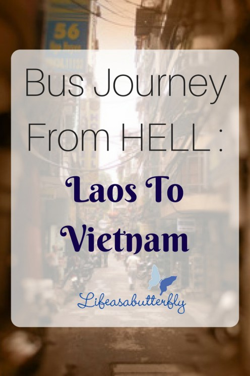 Bus Journey from HELL: Laos to Vietnam