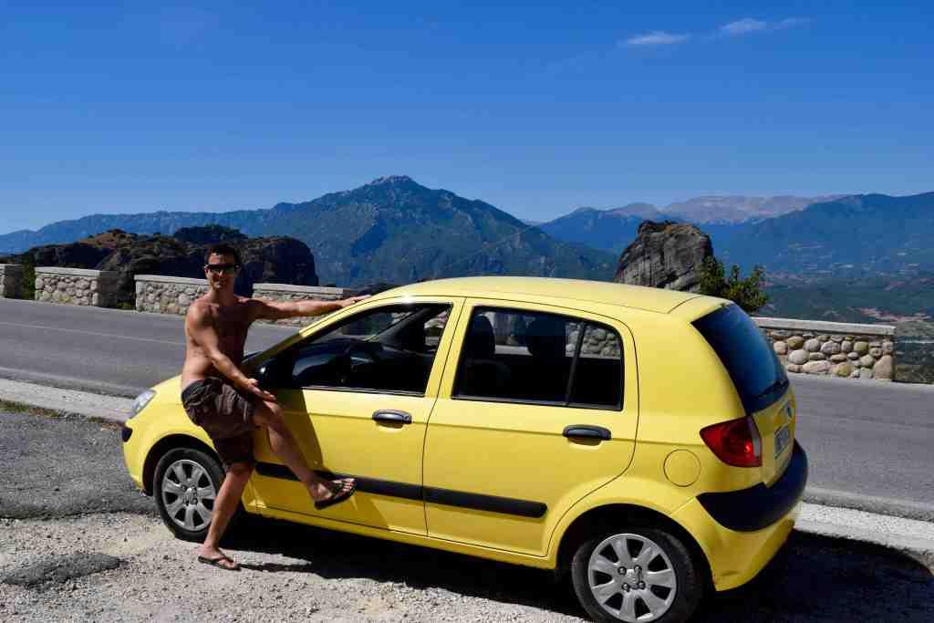 hire car Greece