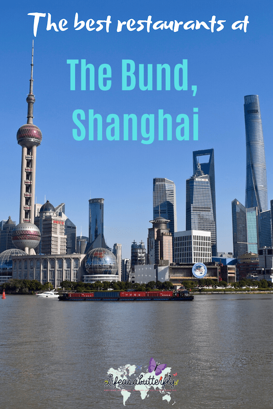 The Bund Shanghai restaurants