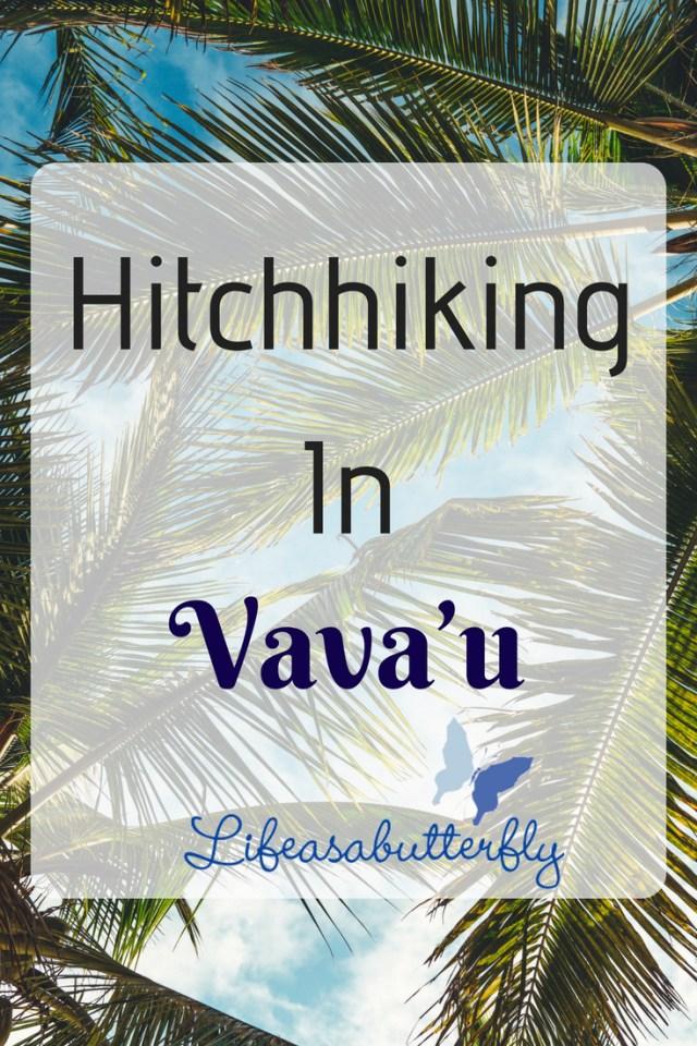 Hitchhiking in Vava'u