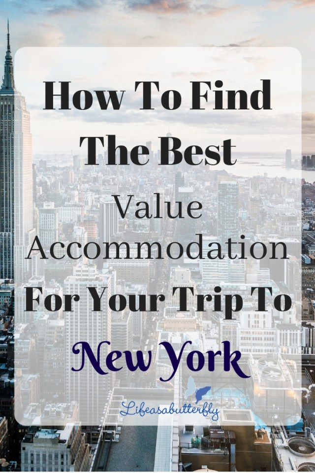 How To Find The Best Value Accomodation For Your Trip To New York