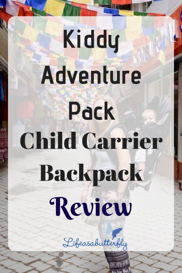 Kiddy Adventure Pack Child Carrier Backpack Review