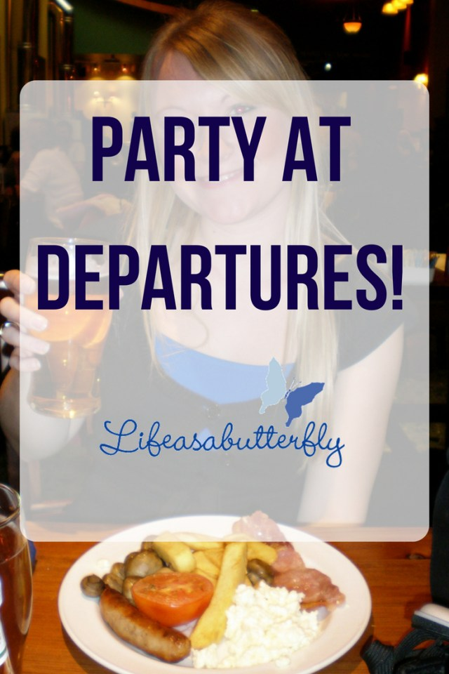 Party At Departures!!!