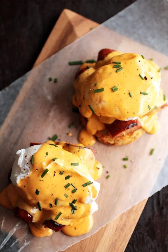 cajun eggs benedict 1 - Where To Eat In San Francisco
