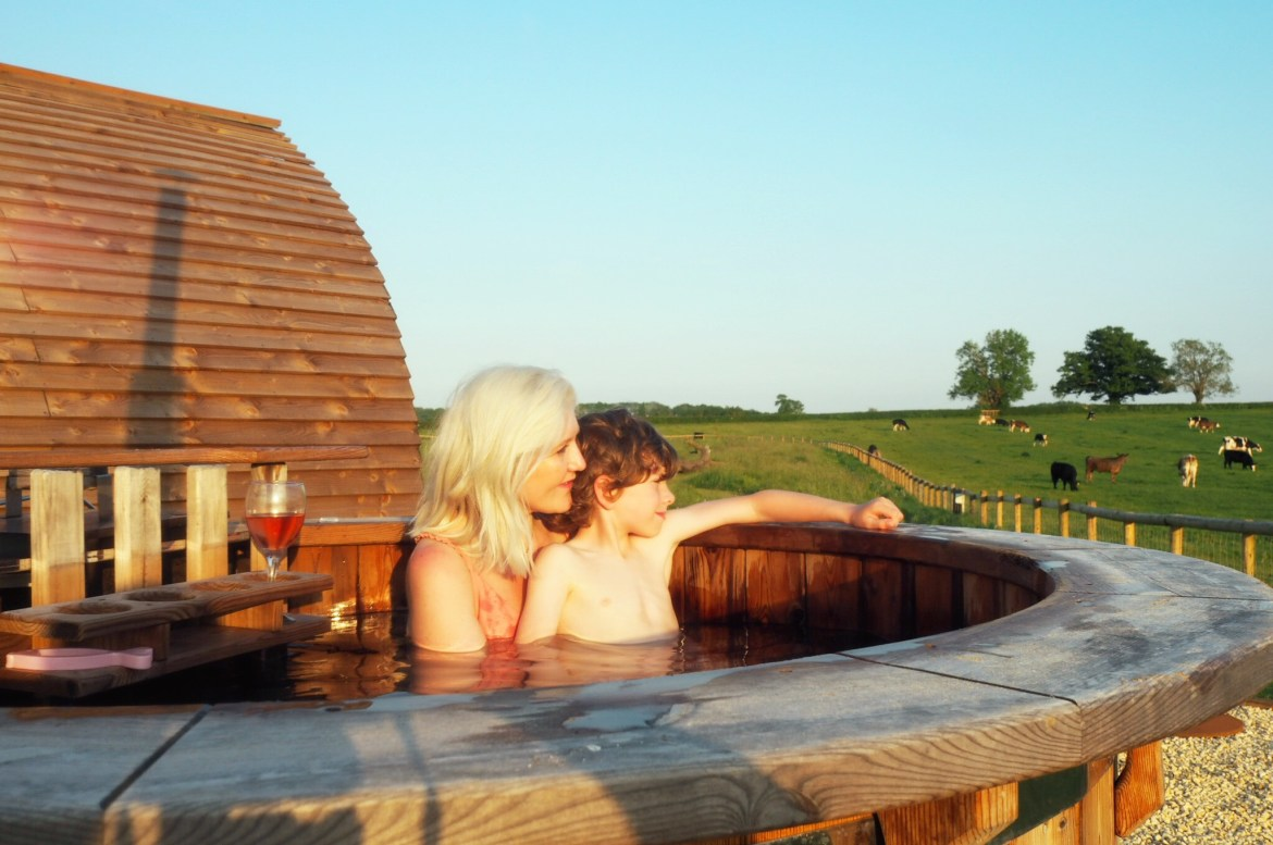 Luxury Glamping in the heart of the Cotswolds {Part 1}...