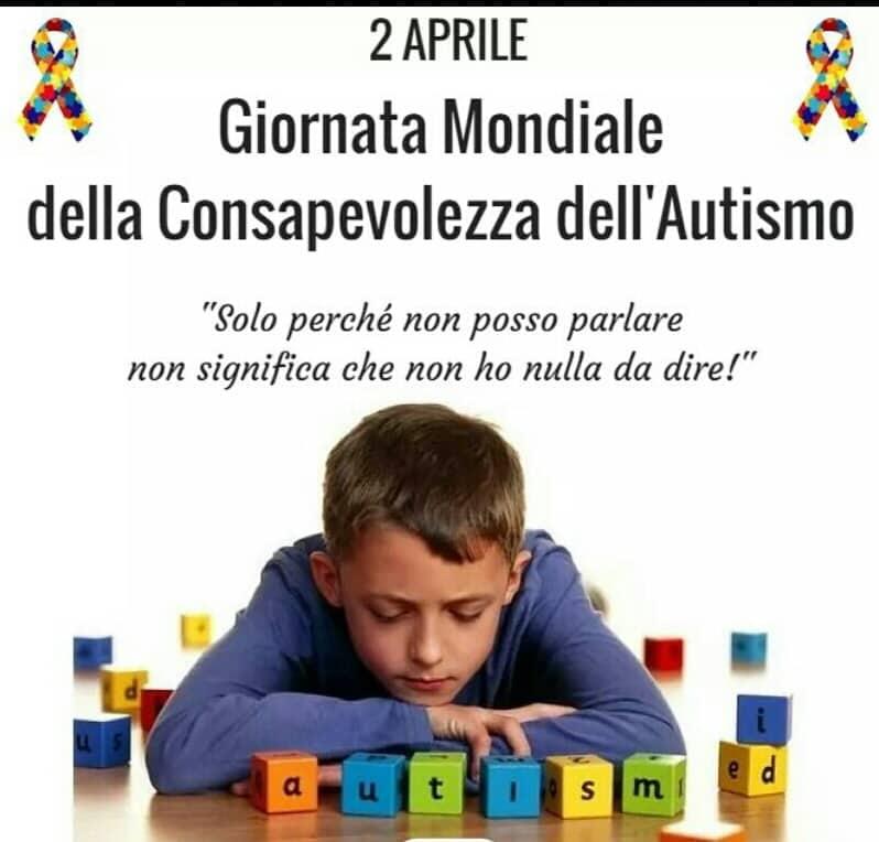 Giornata mondiale della consapevolezza dell' Autismo