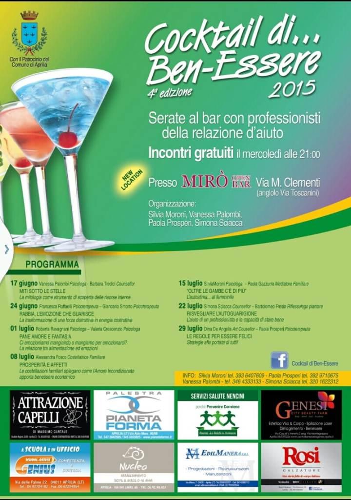 Cocktail di ben-essere 2015 Ultimo appuntamento!