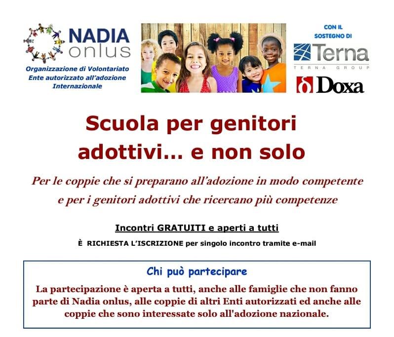 NADIA Onlus-Scuola per Genitori Adottivi…e non solo. 16 Gennaio 2016