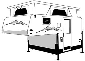 slide on campers