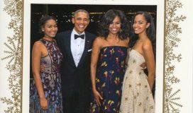 Obama's last christmas card