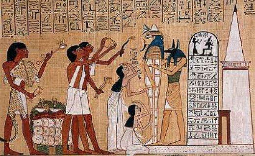 egypt funerary