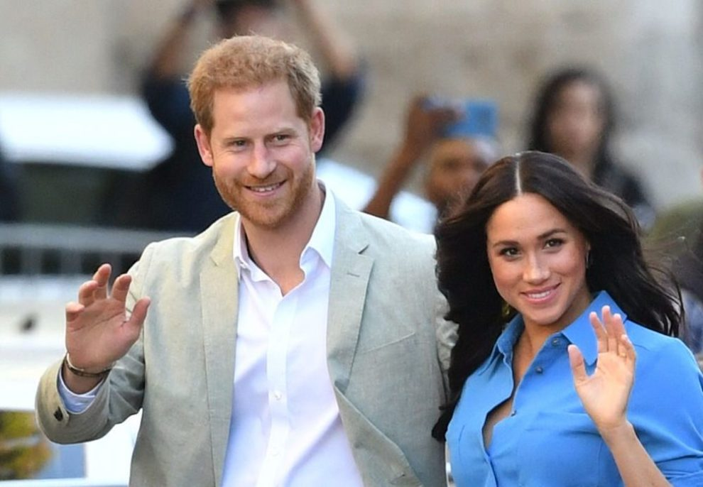 Prince Harry Meghan Markle party-time royals