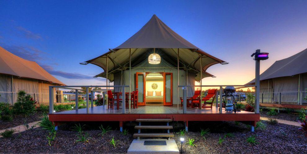 Glamping Safari Tent Rivershore