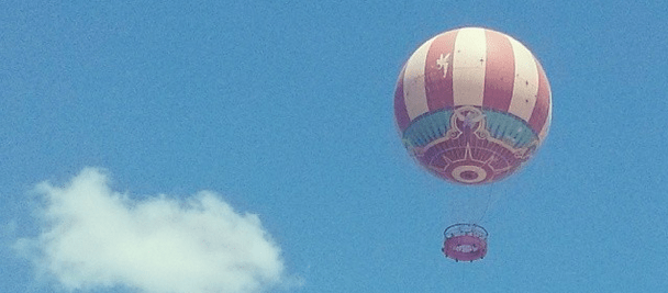 Hot air balloon in Orlando, FL -- Candace Davison