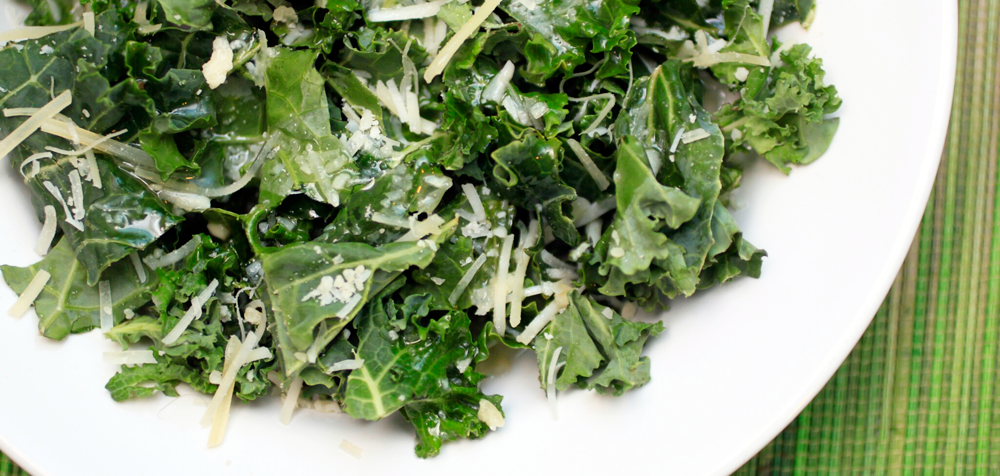 Lemon-Garlic Kale Salad, LifeBetweenWeekends.com