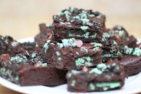 Swamp Thing Brownies