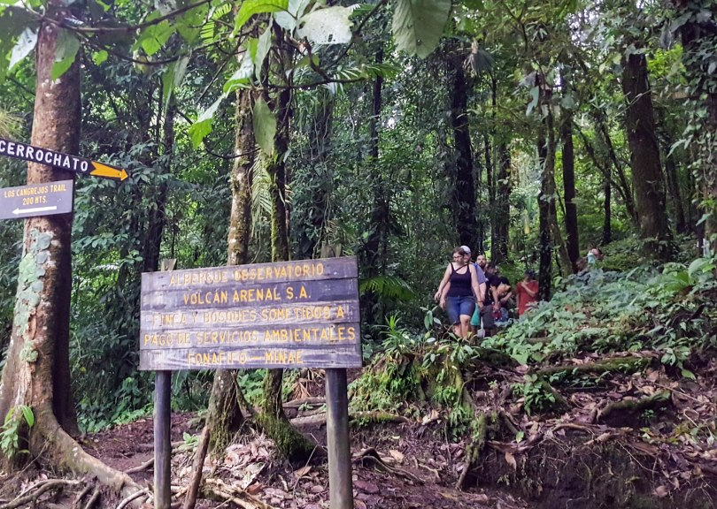 Hiking Cerro Chato Costa Rica