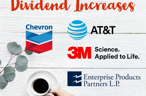 Dividend Increases for February 2019 - Life Beyond Fire
