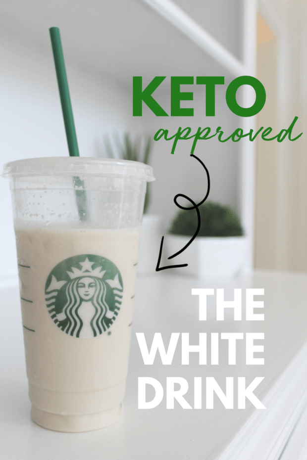 How to order the keto white drink