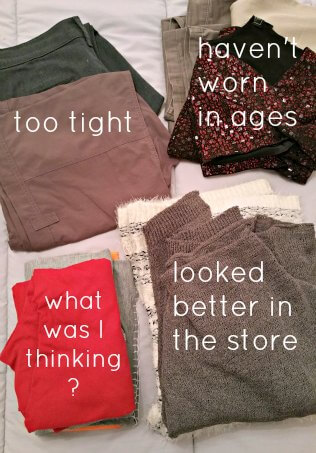 Declutter Challenge: Tackling the Clothes ~ Life Beyond the Kitchen