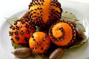 Holiday Citrus Centerpiece
