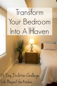 Transform Your Bedroom into a Haven in One Week