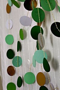 St Patrick's Day Garland ~ Life Beyond the Kitchen