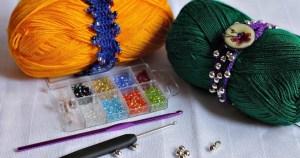 Pretty Crocheted Bracelets for Summer {#CraftyDestash}