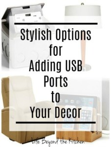 You Need USB Furniture in Your Life