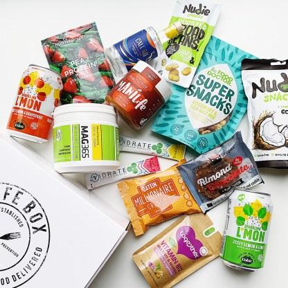 January vegan snacks from Lifebox