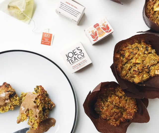 Recipe for gluten-free morning muffins