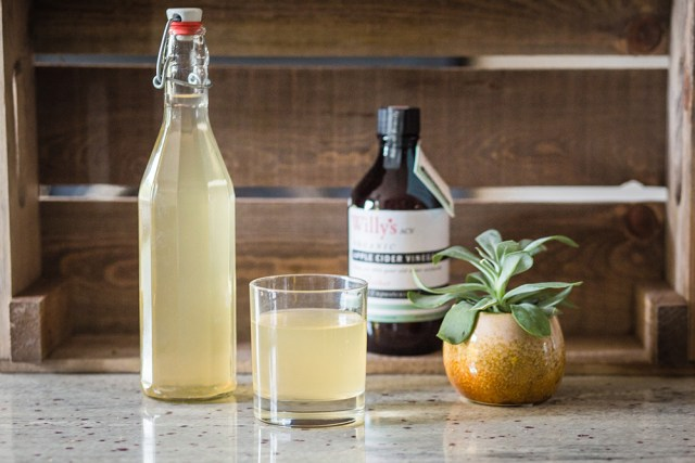 Willy's apple cider vinegar tonic