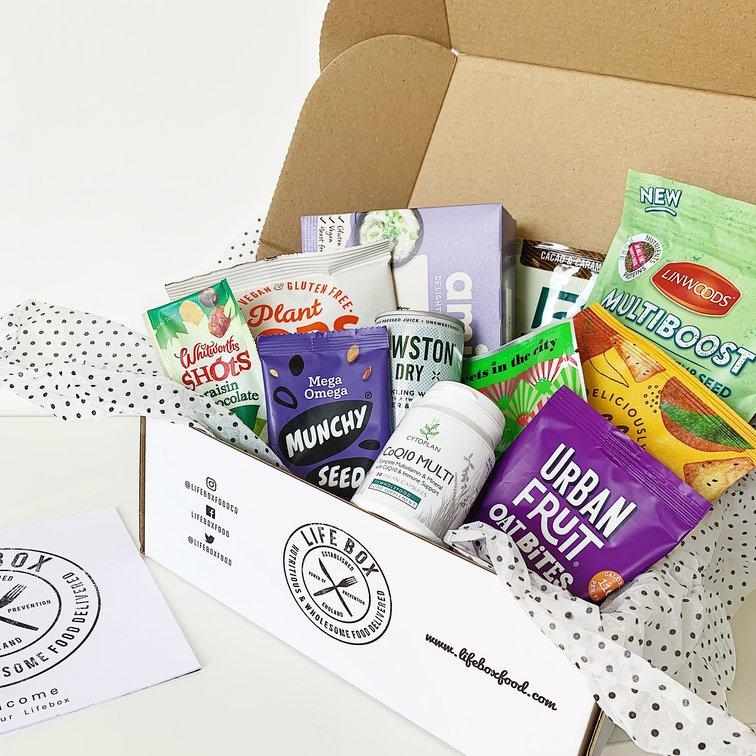 vegan gluten free gift snack box