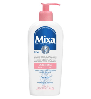 Mixa Soothing Body Lotion Pump Bottle