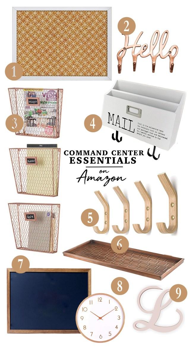 Command Center Essentials