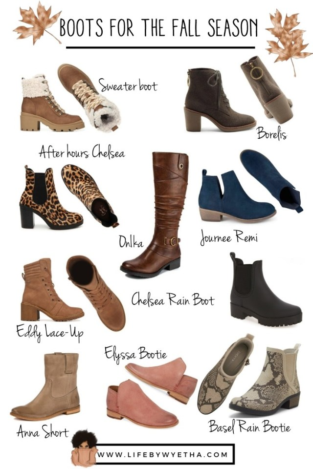 Boots for Fall Season