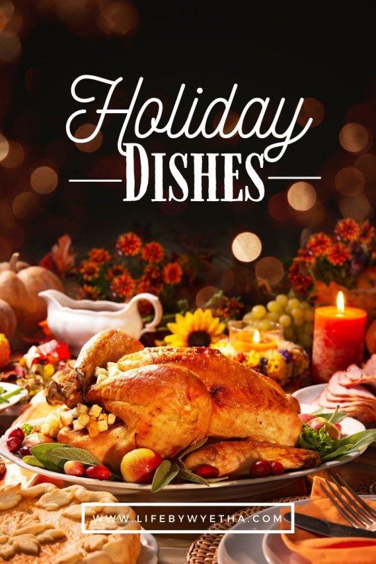 holiday dishes PIN