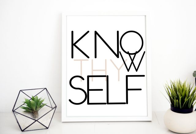 Know Thyself Printable